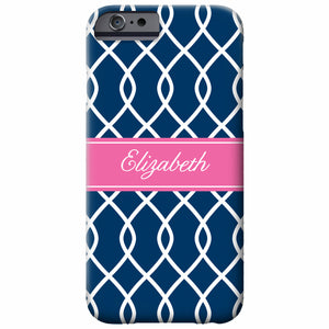 Personalized Chain Link iPhone Case | Swanky Press