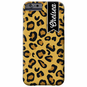 Cheetah Personalized iPhone Case | Swanky Press