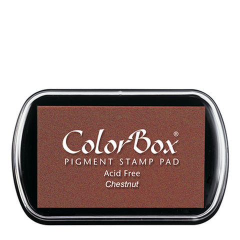 Color Box Pigment Ink Pad (Chestnut) | Swanky Press