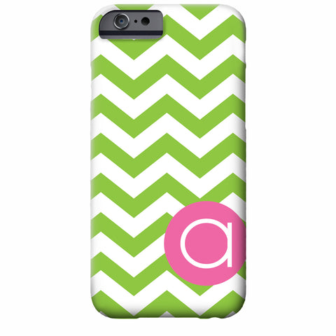 Chevron dot iPhone Case from Swanky Press