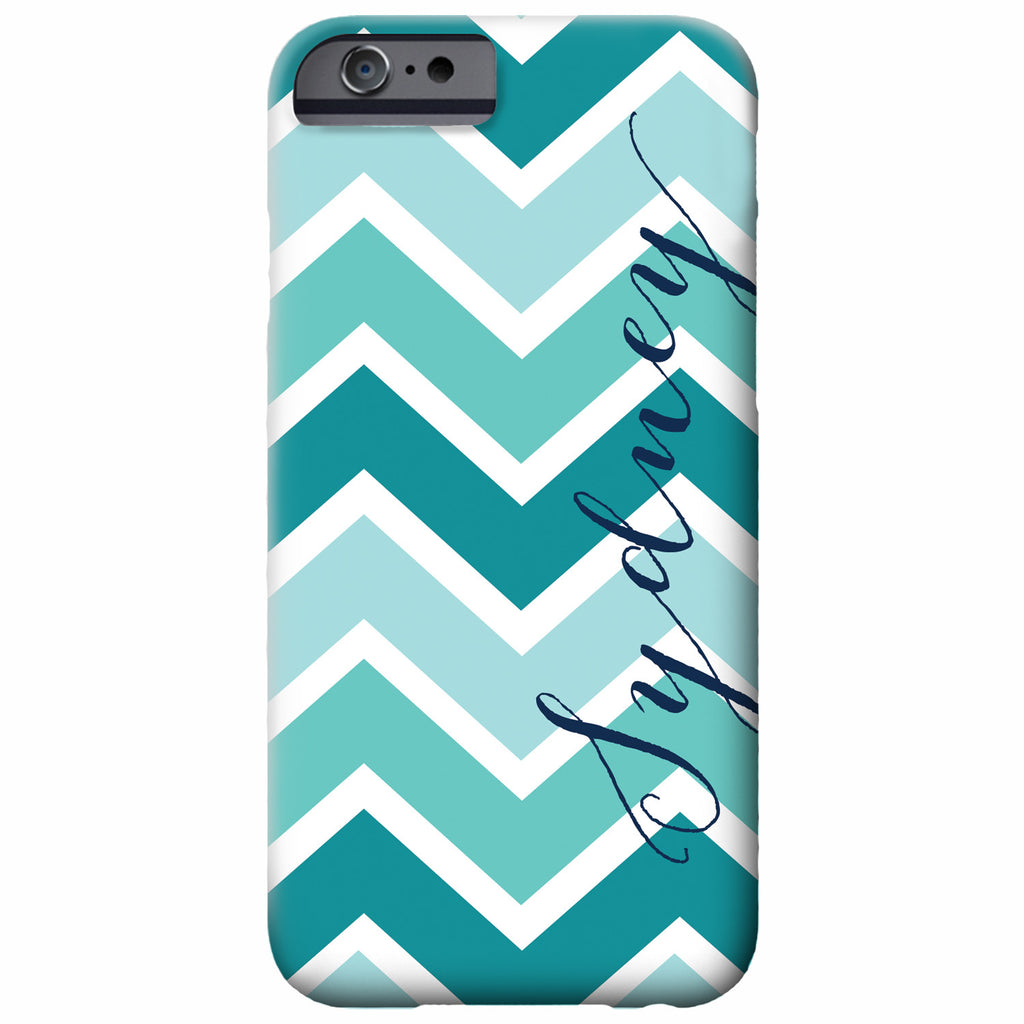 Personalized Chevron iPhone Case | Swanky Press