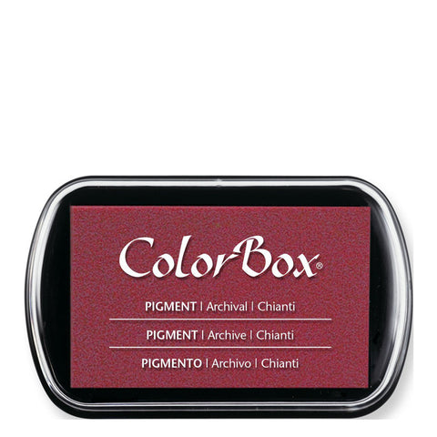 Color Box Pigment Ink Pad (Chianti) | Swanky Press