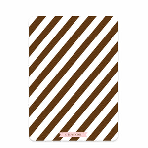 Chocolate Party Birthday Invitation, Pink (Printed)