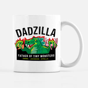 Dadzilla Personalized Coffee Mug