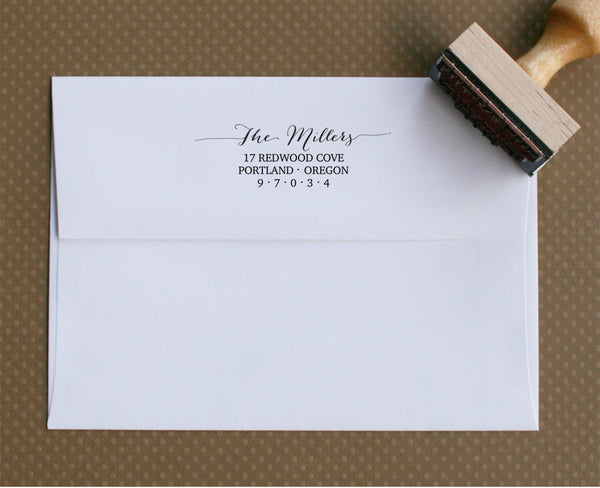 Artisan Personalized Stamp | Design #10 | Swanky Press