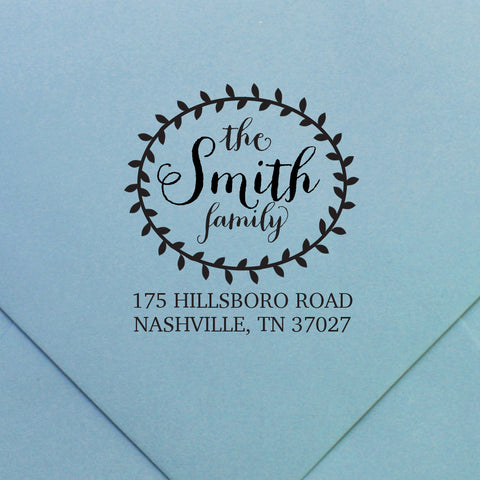 Custom Stamp | Design #35 | Swanky Press