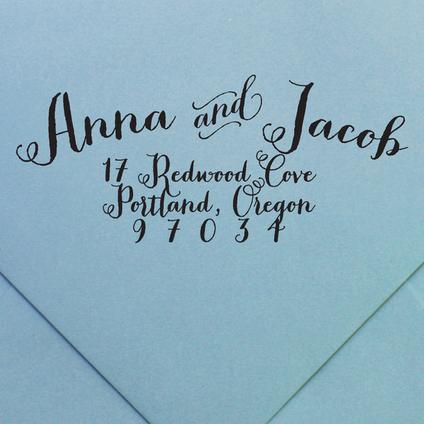 Custom Stamp | Design #32 | Swanky Press
