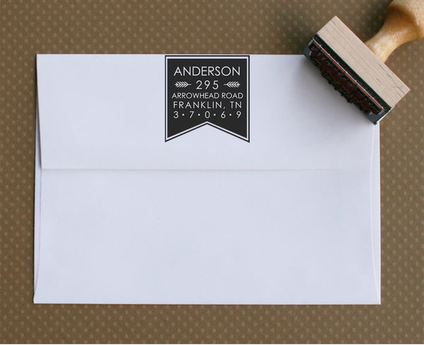 Custom Stamp | Design #6 | Swanky Press