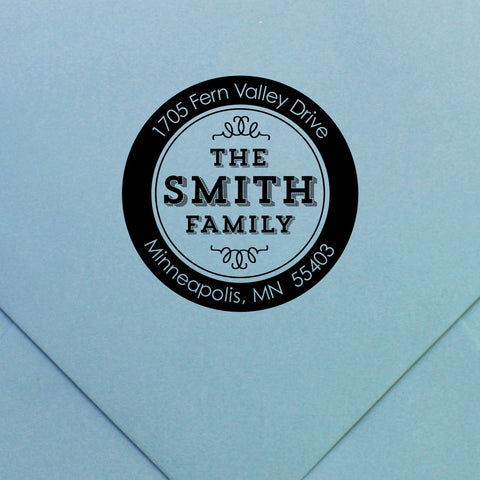 Custom Stamp | Design #8 | Swanky Press