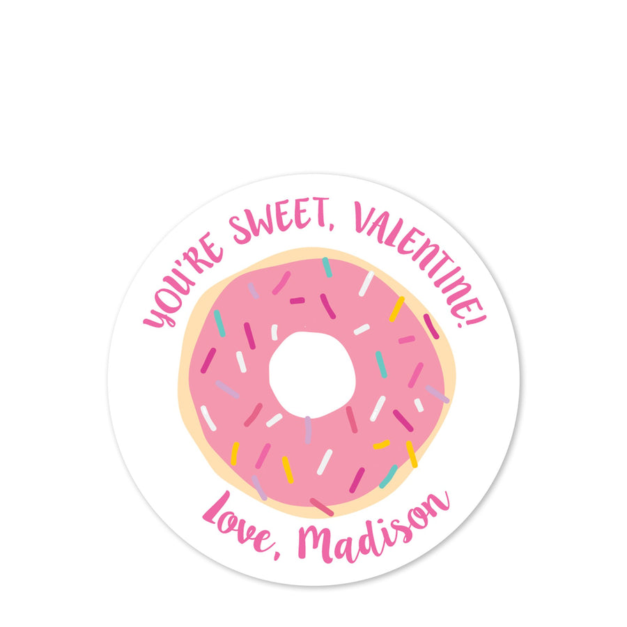Donut | Pink Icing | You're Sweet | PIPSY.COM