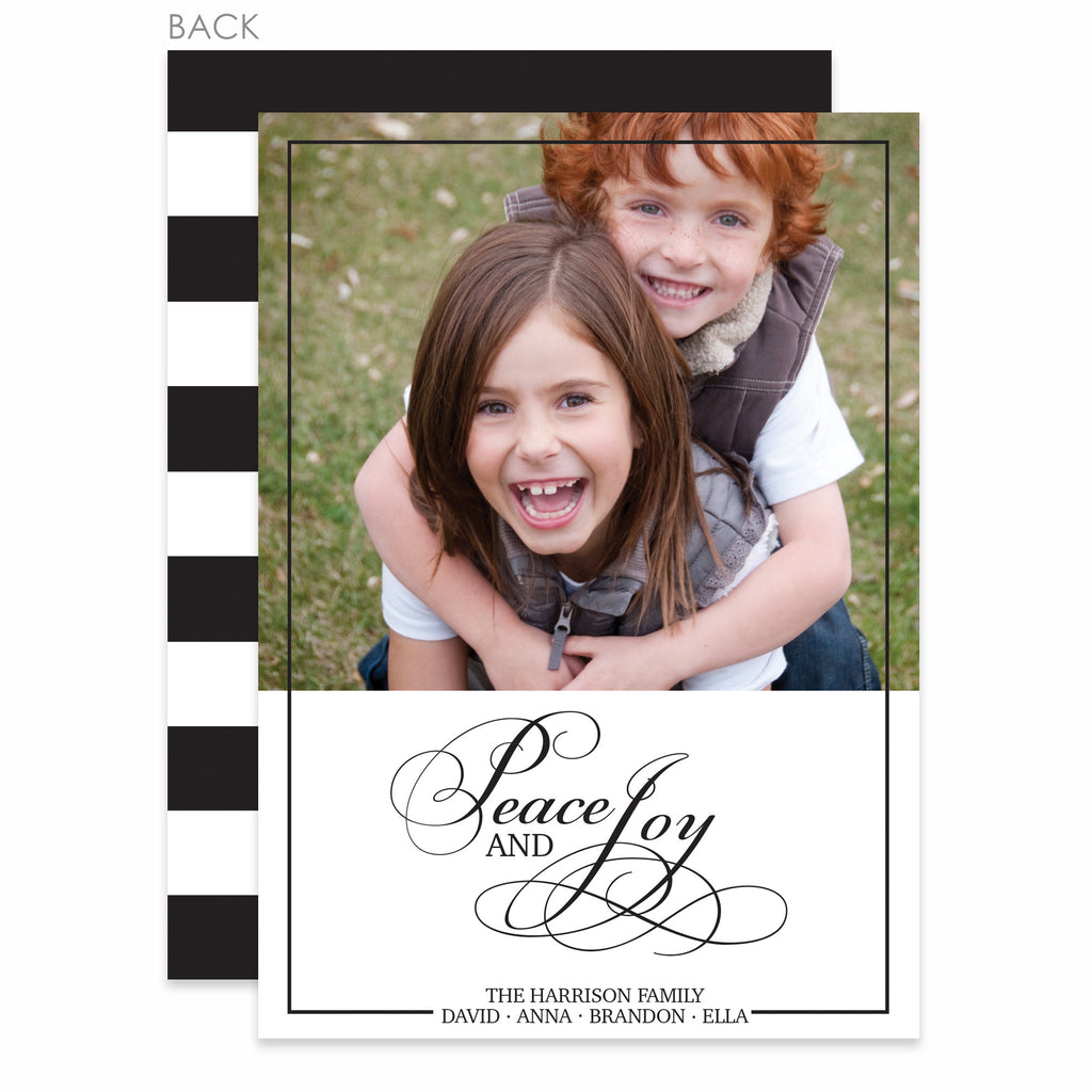 Elegance Holiday Photo Card