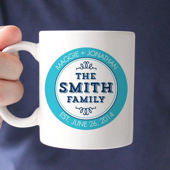 Family Logo Coffee Cup