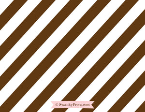 Chocolate Party Flat Notecards