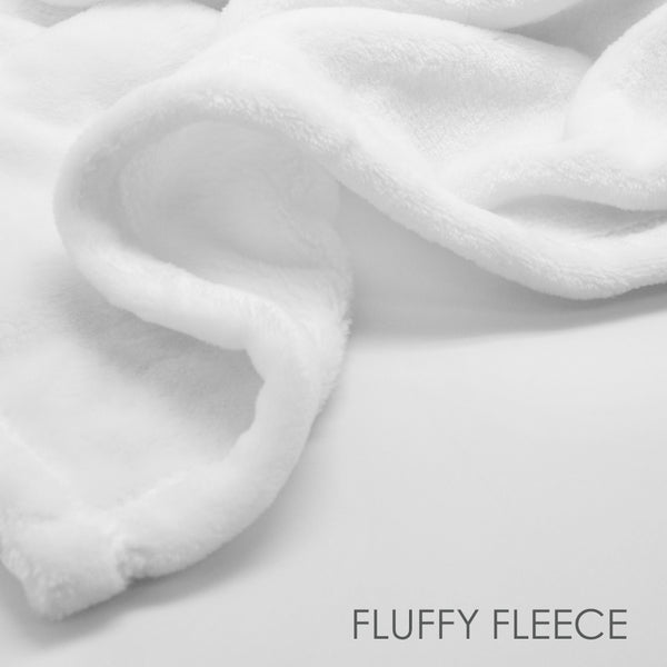 Fluffy Fleece Milestone Blanket | Pipsy.com