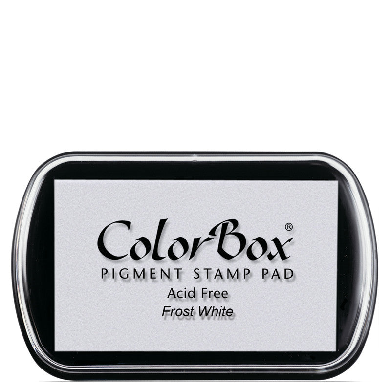 Color Box Pigment Ink Pad (Frost White) | Swanky Press