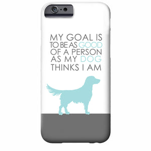 Good Dog iPhone Case | Swanky Press (choose your own breed and colors)