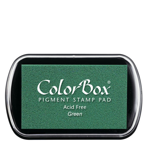 Color Box Pigment Ink Pad (Green) | Swanky Press