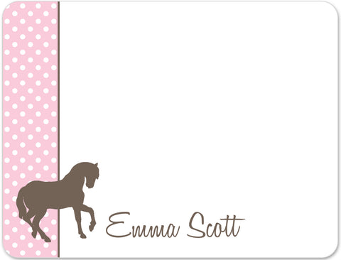 Horse Flat Notecards