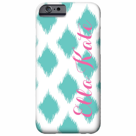 Personalized Ikat iPhone Case | Swanky Press
