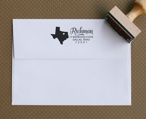 Custom Stamp | Design #7 | Swanky Press