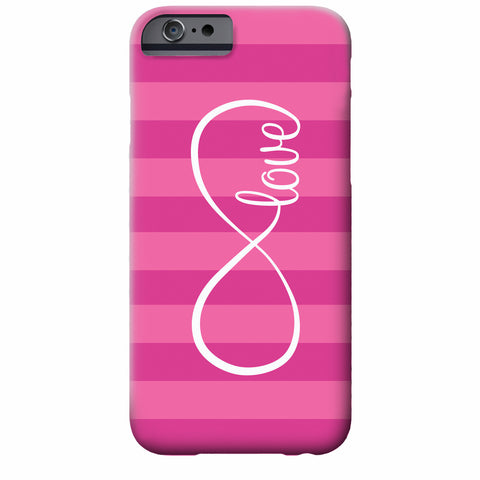 Infinite Love Fuchsia Custom Cell Phone Case