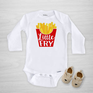Little Fry Gerber Onesie®, long sleeved, Pipsy.com