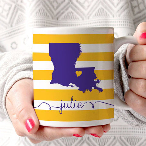 Louisiana Coffee Mug