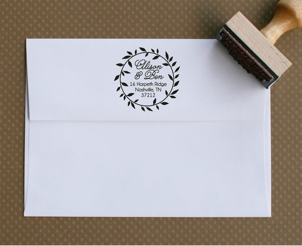 Custom Stamp | Design #29 | Swanky Press