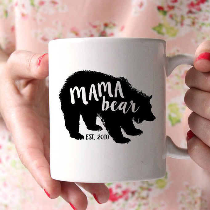 Mama Bear Coffee Mug
