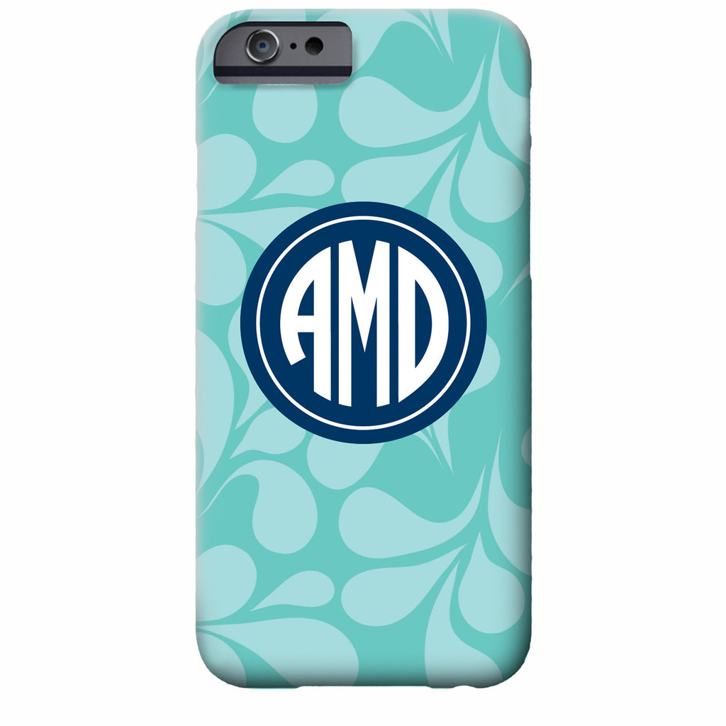 Mod Petals Monogrammed iPhone Case | Swanky Press