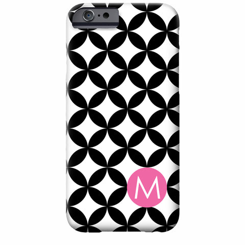 Modern Dots Personalized iPhone case | Swanky Press