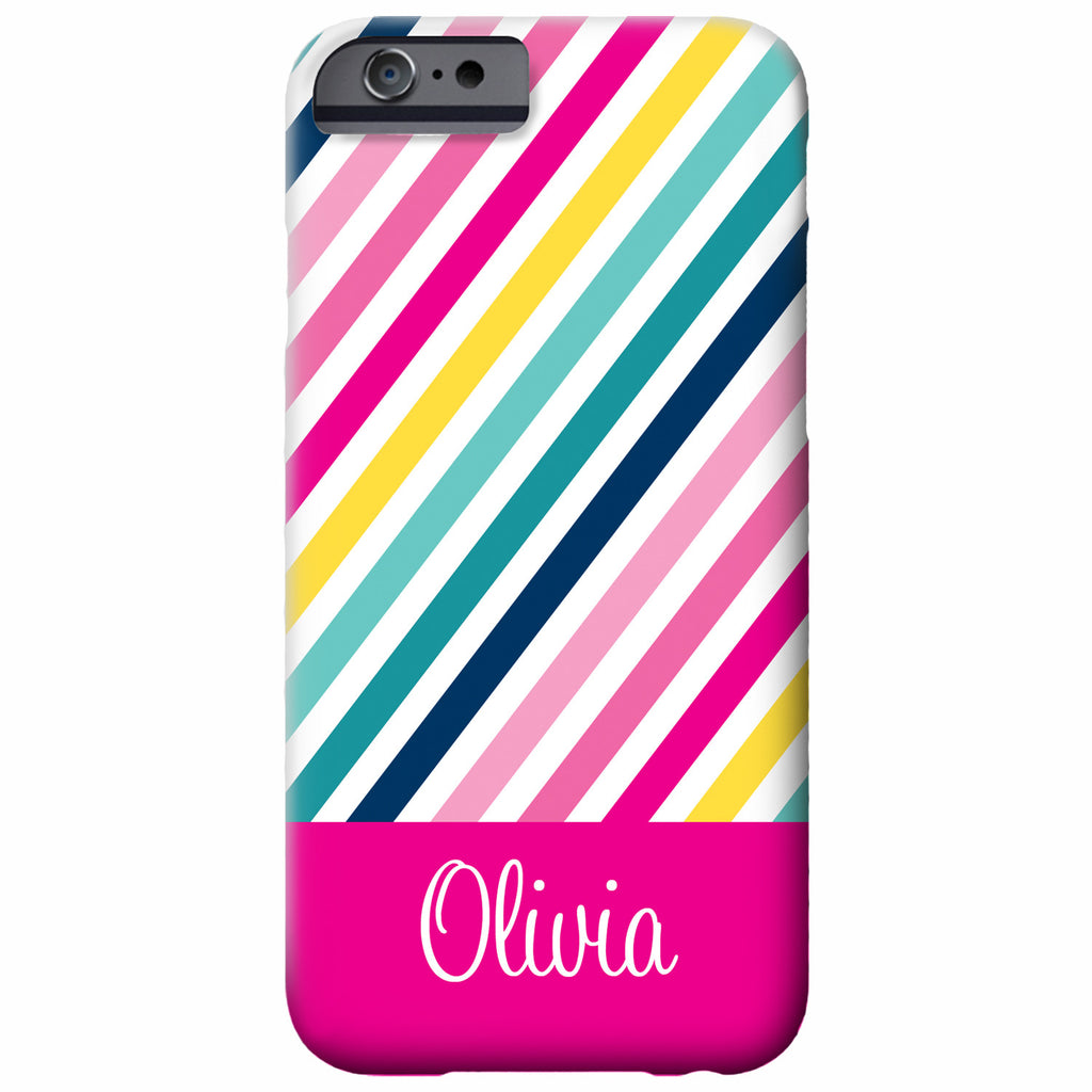 Personalized Rainbow iPhone Case | Swanky Press