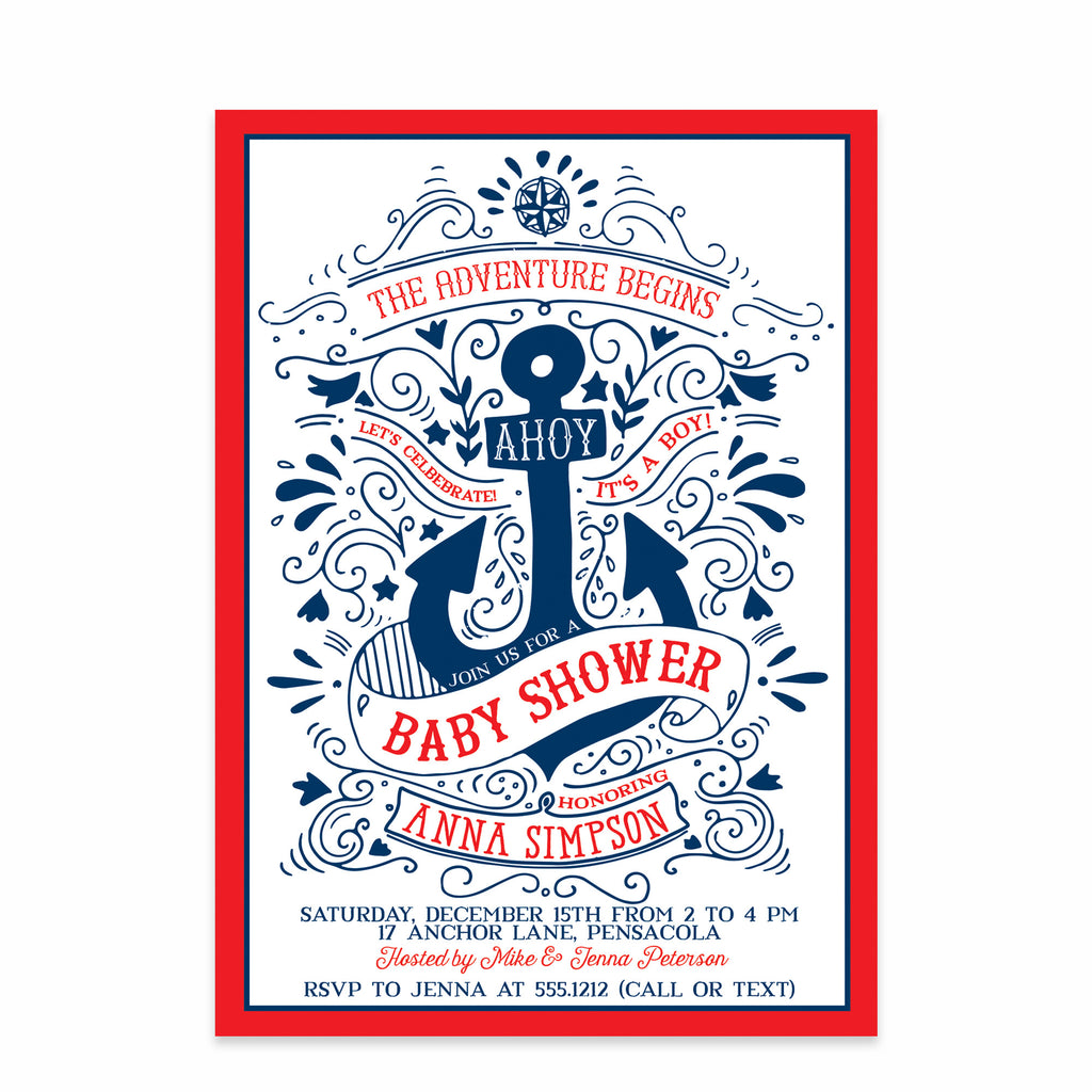 printables that gender neutral baby shower themes nautical invitations free