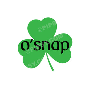 St. Patrick's Day Tea Towel, O'Snap
