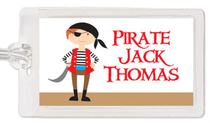 Pirate Bag Tag