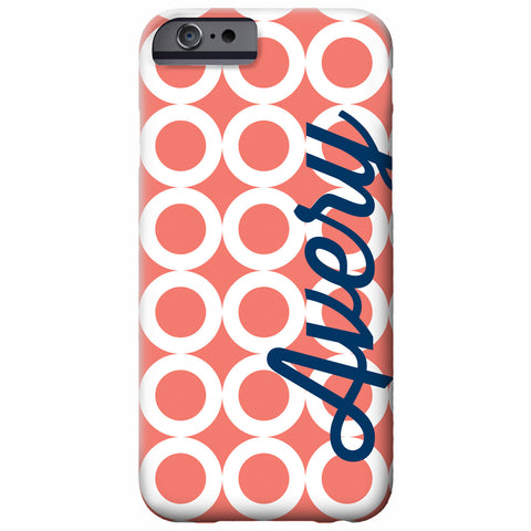 Personalized Rings iPhone Case | Swanky Press