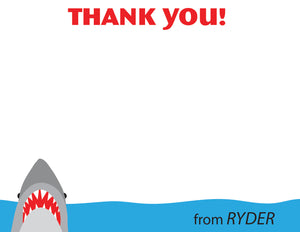 Shark Thank You Notes | Swanky Press