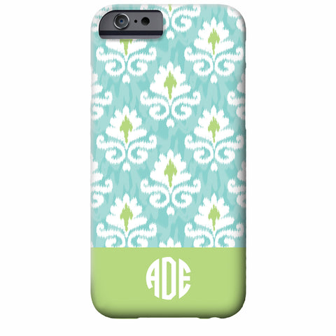 Monogrammed Soft Ikat iPhone Case | Swanky Press