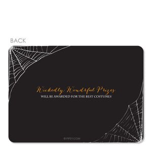 Costumes And Cocktails Halloween Invitation (Printed)