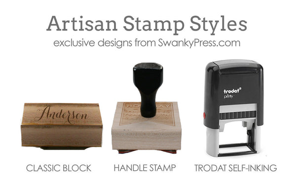 Custom Stamp | Design #40 | Swanky Press