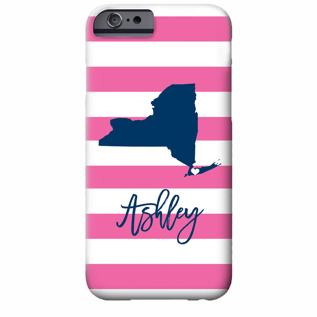 Personalized State Love iPhone Case | Swanky Press