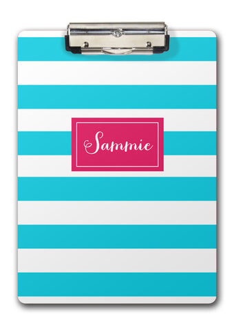 stripes clipboard | Swanky Press