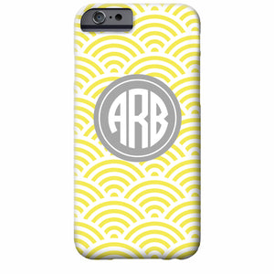 Monogrammed Sunrise iPhone Case | Swanky Press