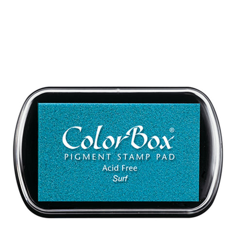 Color Box Pigment Ink Pad (Surf) | Swanky Press