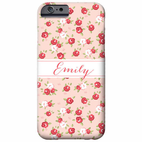 Personalized Sweet Roses iPhone Case | Swanky Press