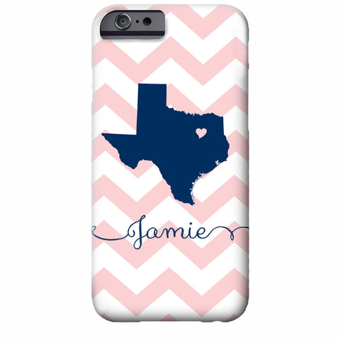 State Love iPhone Case | Swanky Press (shown Texas)
