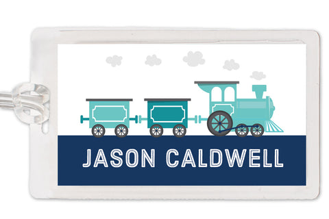 Train Bag Tag | Swanky Press