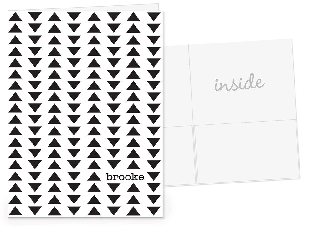 Triangles Pocket Folder