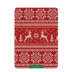 Ugly Sweater Christmas Party Invitation | Swanky Press (back view)
