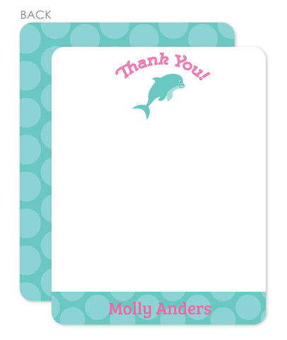 Under the Sea thank you notes | Swanky Press